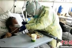 仍在武汉奋战的内蒙古医疗队患者也是天使